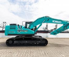 Der KOBELCO Hybridbagger SK 210H(N)LC-10