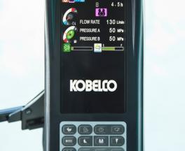 Display im Kobelco SK 180-10